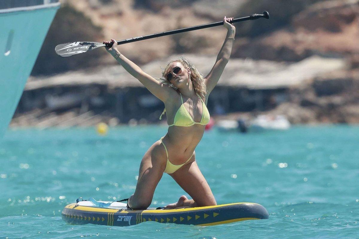 PERRIE EDWARDS In Bikini At A Boat In Ibiza 06/05/2019