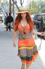 PHOEBE PRICE Out Shopping in Beverly Hills 05/31/2019