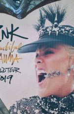 PINK Performs at Rds Dublin at Her Beautiful Trauma World Tour 06/22/2019