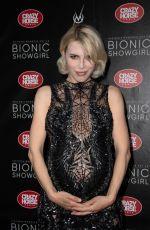 Pregnant ARIA CRESCENDO at Bionic Showgirl Premiere in Paris 06/03/2019