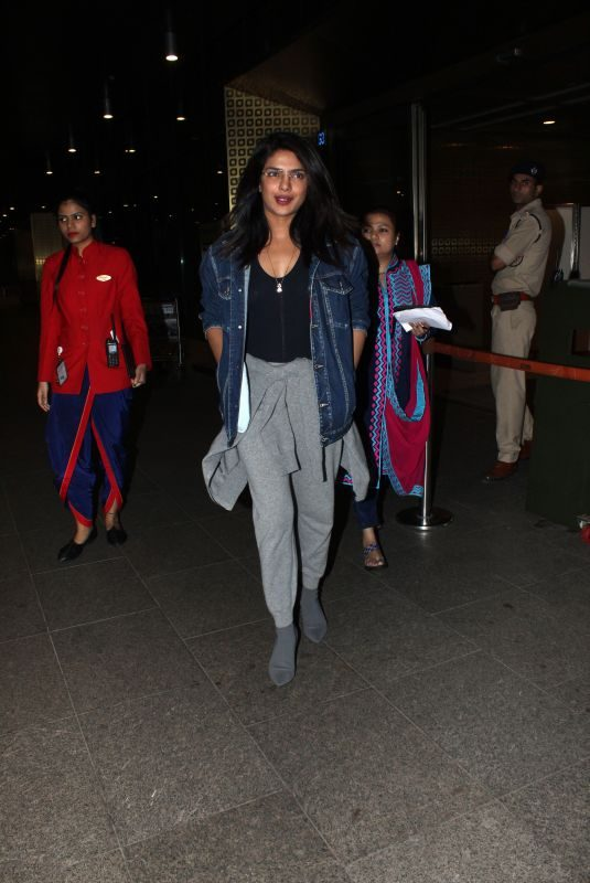 PRIYANKA CHOPRA at Airport in Mumbai 06/06/2019