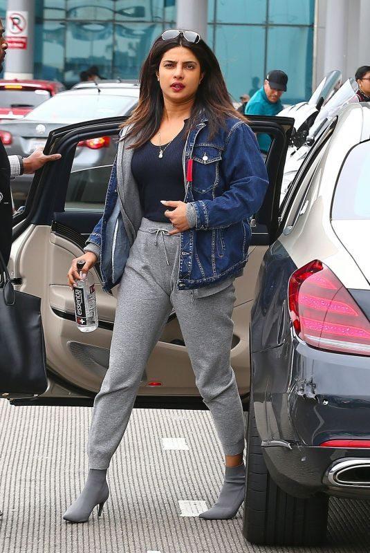 PRIYANKA CHOPRA at LAX Airport in Los Angeles 06/04/2019