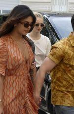 PRIYANKA CHOPRA, SOPHIE TURNER and Joe and Nick Jonas Arrives at Their Hotel After Jophie Pre-wedding Party in Paris 06/24/2019
