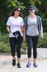REESE WITHERSPOON Out Jogging in Los Angeles 06/08/2019