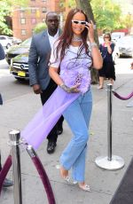 RIHANNA Arrives at a Party in New York 06/09/2019