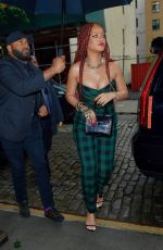 RIHANNA Arrives at Late Night with Seth Meyers in New York 06/19/2019