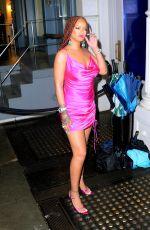 RIHANNA at Fenty Pop-up in New York 06/11/2019