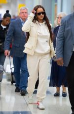 RIHANNA at JFK Airport in New York 06/08/2019