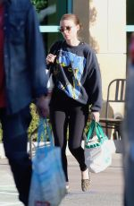 ROONEY MARA Shopping at Gelson