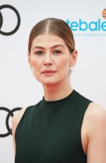 ROSAMUND PIKE at Audi Sentebale Concert at Hampton Court Palace in London 06/11/2019