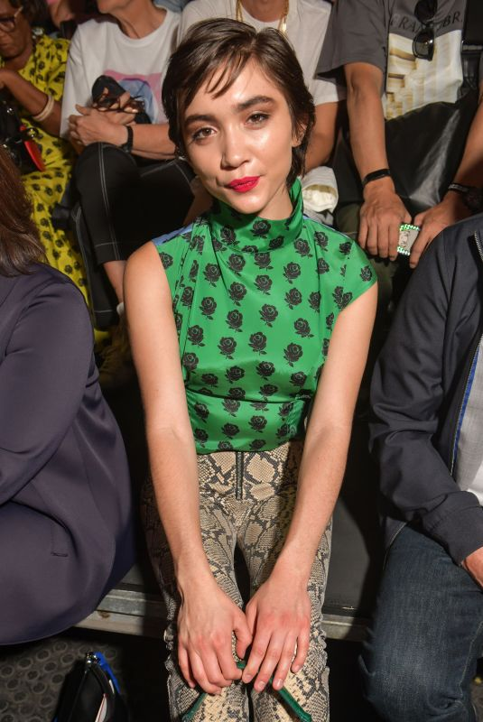 ROWAN BLANCHARD at Kenzo Show at Paris Fashion Week 06/23/2019