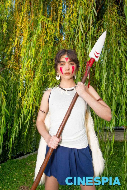 ROWAN BLANCHARD - Princess Mononoke Photoshoot, June 2019