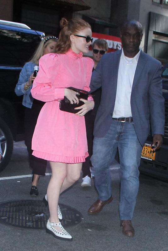 SADIE SINK Leaves Today Show in New York 06/14/2019