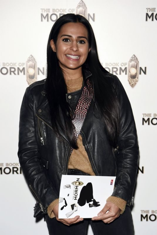 SAIR KHAN at The Book of Mormon Press Night in Manchester 06/12/2019