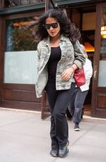 SALMA HAYEK Leaves Greenwich Hotel in New York 06/04/2019