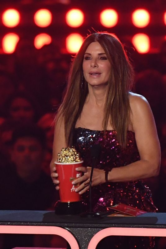 SANDRA BULLOCK at 2019 MTV Movie & TV Awards in Los Angeles 06/15/2019