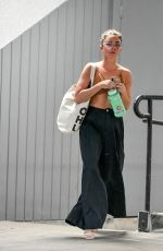 SARAH HYLAND Leaves a Cryotherapy Session in Studio City 06/12/2019