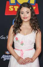 SARAH JEFFERY at Toy Story 4 Premiere in Los Angeles 06/11/2019
