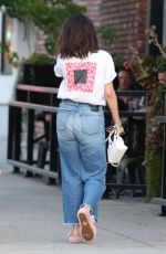 SELENA GOMEZ Arrives at Mercado Restaurant in Studio City 06/14/2019