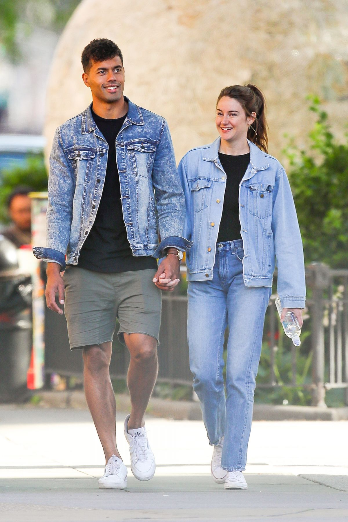 SHAILENE WOODLEY and Ben Volavola Out and About in New
