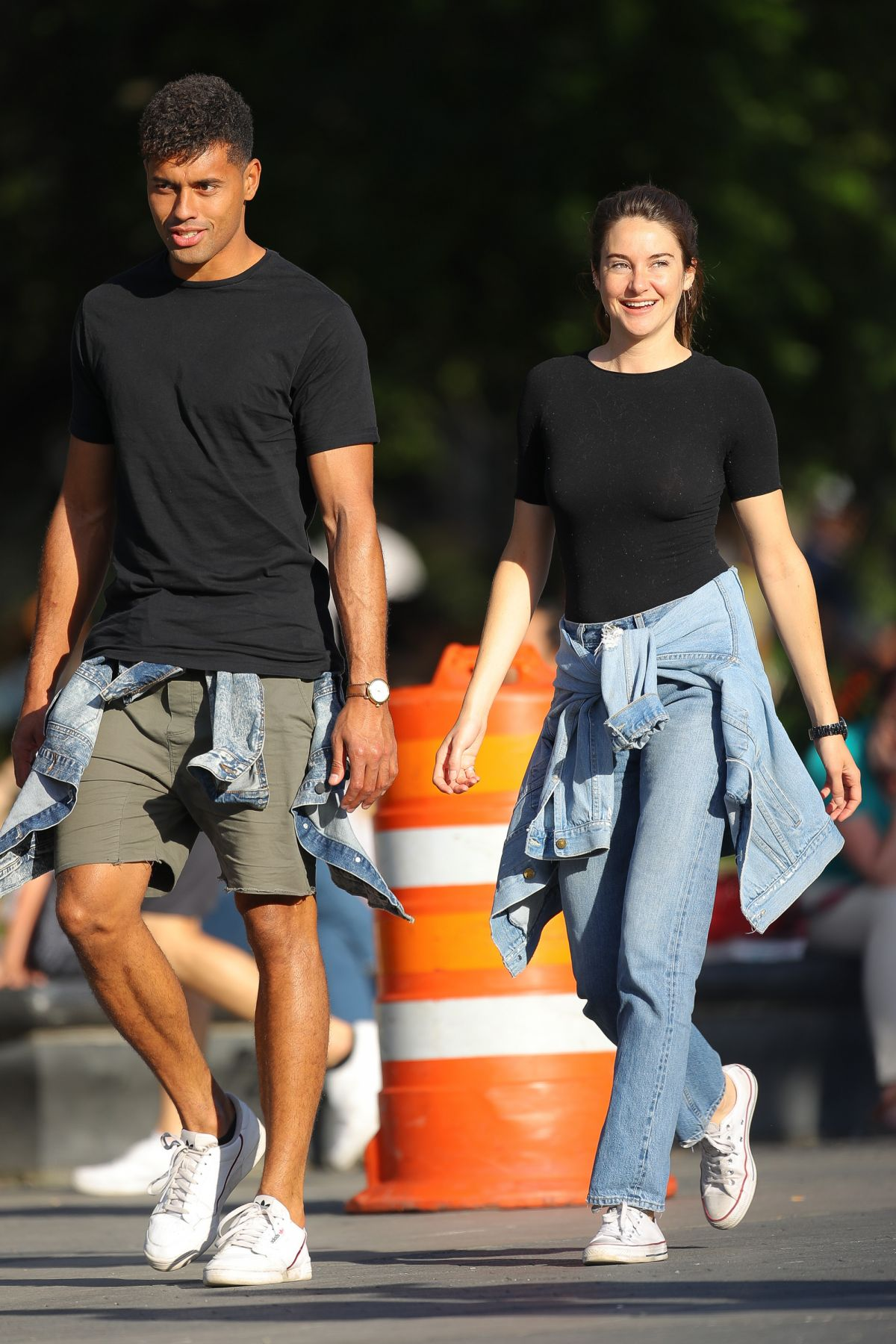 Shailene Woodley And Ben Volavola Out And About In New York 06 10 2019 Hawtcelebs