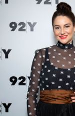 SHAILENE WOODLEY at In Conversation with Carolyn Kylstra at 92Y in New York 06/10/2019