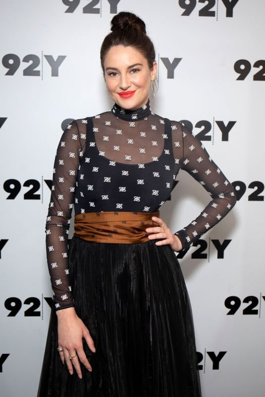 SHAILENE WOODLEY at In Conversation with Glamour's Samantha Barry Big Little Lies in New York 06/10/2019
