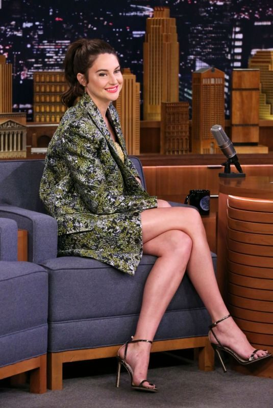 SHAILENE WOODLEY at Tonight Show Starring Jimmy Fallon in New York 06/10/2019