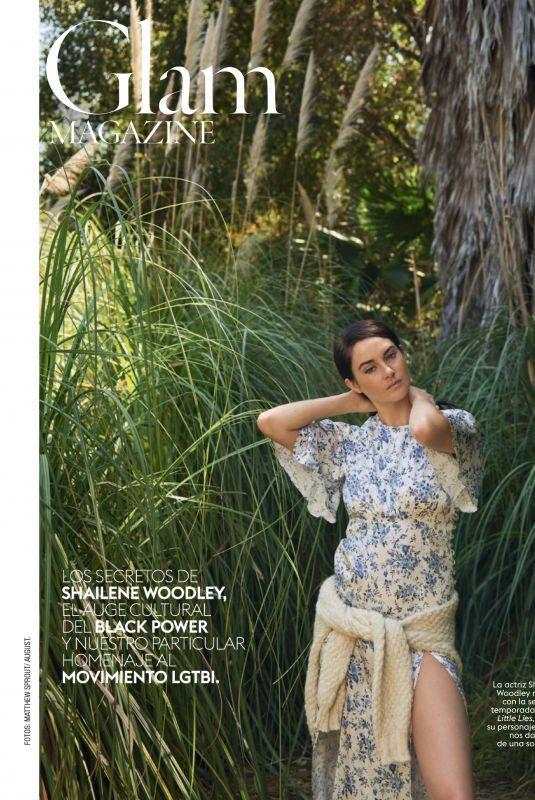 SHAILENE WOODLEY in Glamour Magazine, Spain July 2019