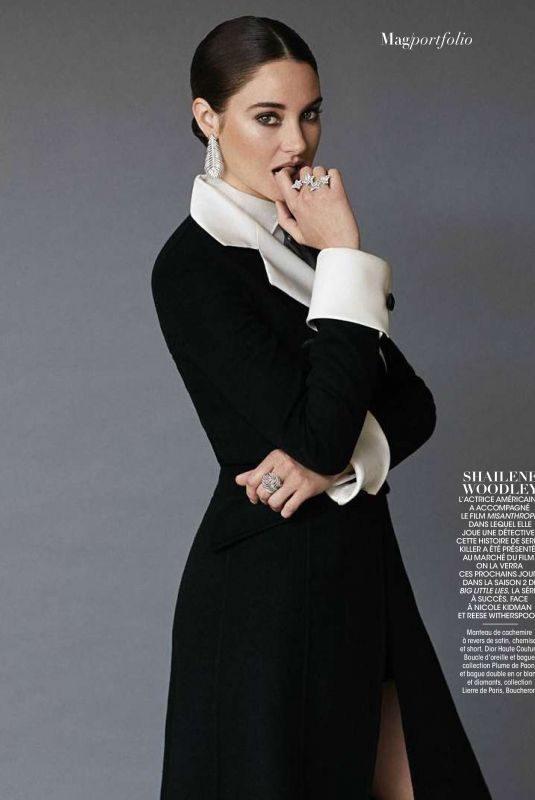 SHAILENE WOODLEY in Madame Figaro Magazine, June 2019