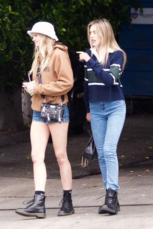 SISITINE STALLONE and CAYLEY KING at Cha Cha Matcha in West Hollywood 06/25/2019