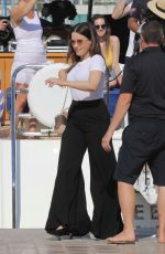 SOPHIA BUSH Out and About in Cannes 06/20/2019