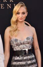 SOPHIE TURNER at Dark Phoenix Premiere in Hollywood 06/04/2019