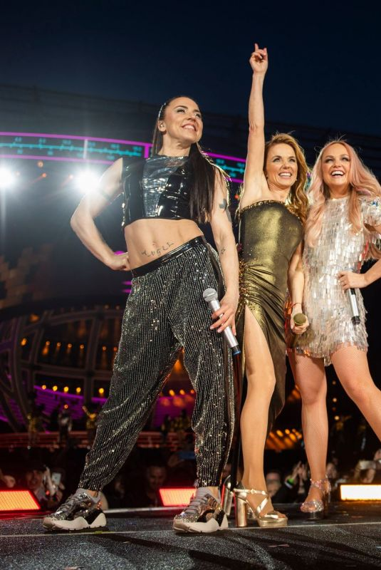 SPICE GIRLS Perform at Their Spice World Tour in Coventry 06/04/2019