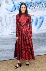 STACY MARTIN at Serpentine Gallery Summer Party in London 06/25/2019
