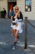 STELLA MAXWELL Out in Florence 06/13/2019