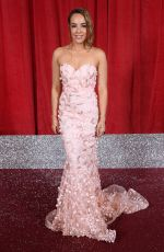 STEPHANIE DAVIS at British Soap Awards 2019 in Manchester 06/01/2019