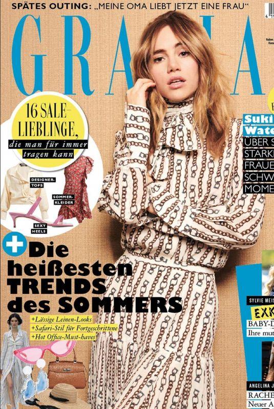 SUKI WATERHOUSE for Grazia Magazine, Germany June 2019
