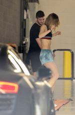 SUKI WATERHOUSE Leaves a Gym in West Hollywood 06/04/2019