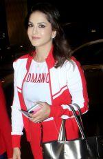 SUNNY LEONE at Mumbai Airport 06/24/2019