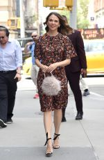 SUTTON FOSTER Arrives at Build Studios in New York 06/12/2019