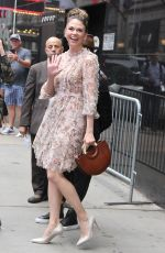 SUTTON FOSTER Arrives at Good Morning America in New York 06/11/2019
