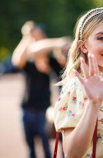 SYDNEY SWEENEY Arrives at Miu Miu Resort 2020 Show in Paris 06/29/2019