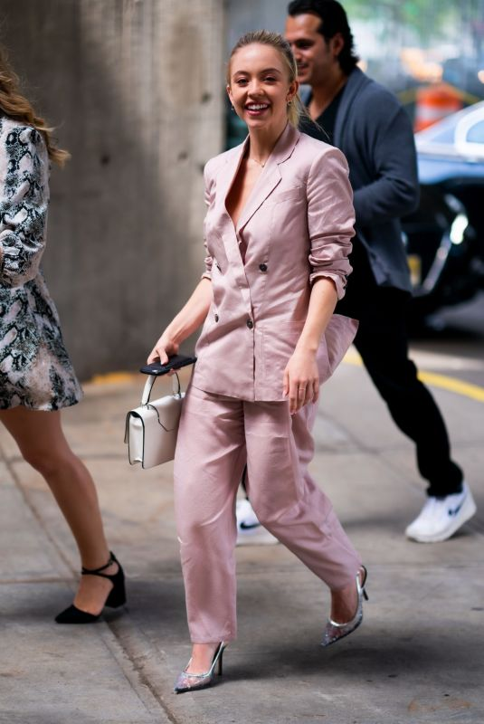 SYDNEY SWEENEY Arrives at Popsugar Play/Ground 2019 at Pier 94 New York 06/22/2019
