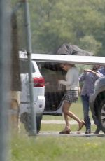 TAYLOR SWIFT Leaves a Private Plane in New Jersey 06/05/2019