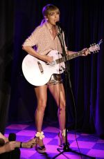 TAYLOR SWIFT Performs at Stonewall Inn in New York 06/14/2019