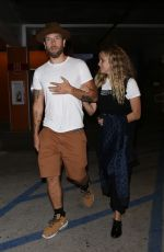 TERESA PALMER and Mark Webber Night Out in Los Angeles 06/25/2019