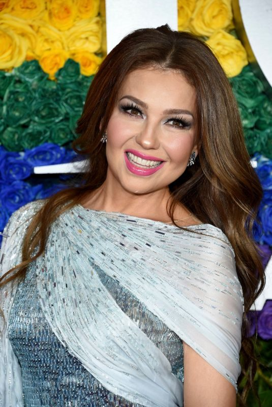 THALIA at 2019 Tony Awards in New York 06/90/2019