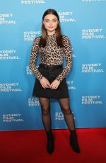 TIARNE COUPLAND at Judy and Punch Premiere at 66th Sydney Film Festival 06/08/2019