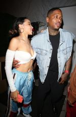 TINASHE Night Out in West Hollywood 06/07/2019